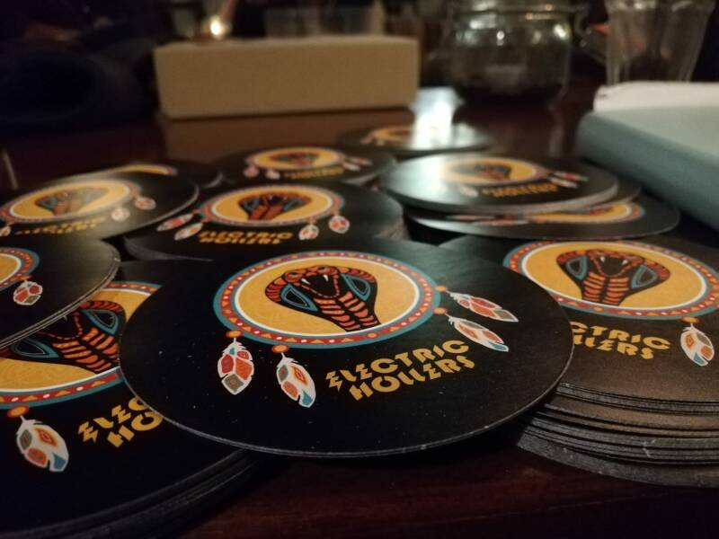 Electric Hollers - Sticker