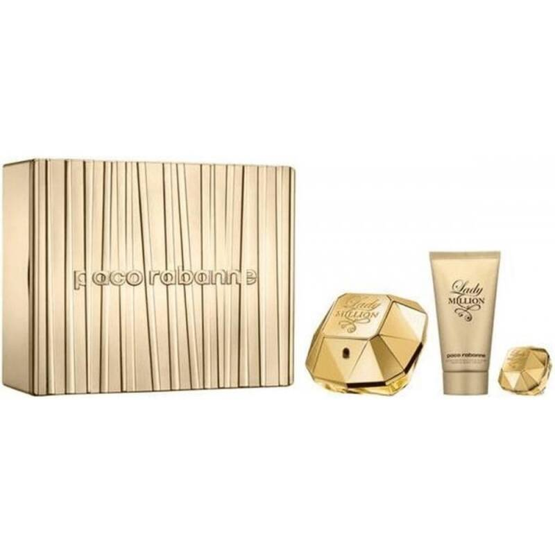 Paco Rabanne Lady Million Edp Giftset 3 delig 130ml