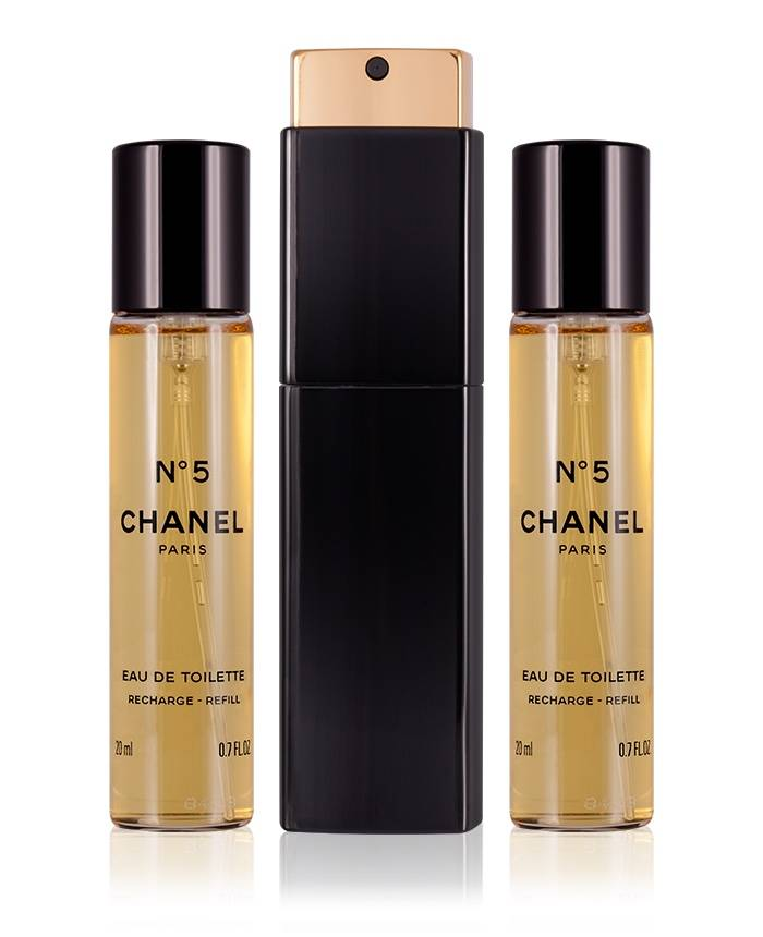 Chanel No. 5 Eau de Toilette 3 x 20 ml