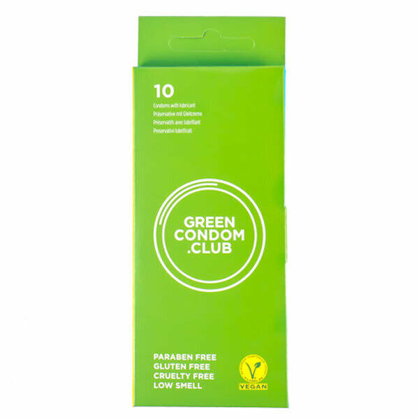 10 GREEN CONDOMS