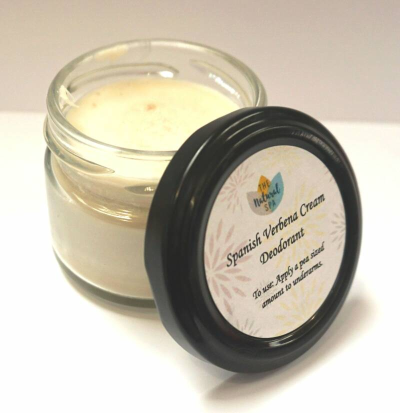 Natural cream deodorant Peppermunt/Spanish Verbena