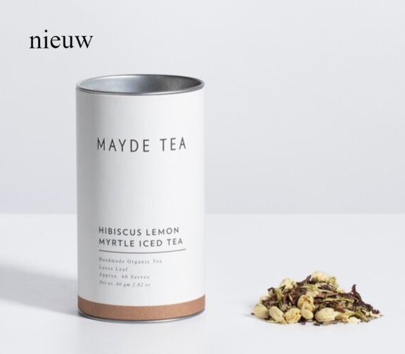 MAYDE TEA HIBISCUS LEMON MYRTLE ICED TEA