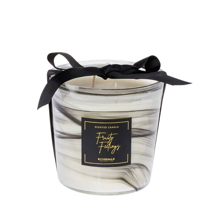 scented candle black
