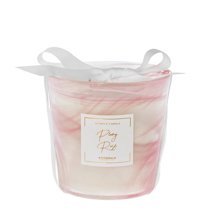 scented candle clear
