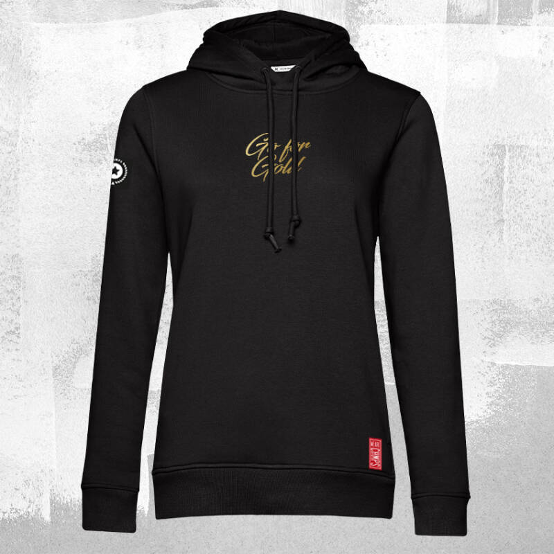 Go for Gold Dames Hoodie Black