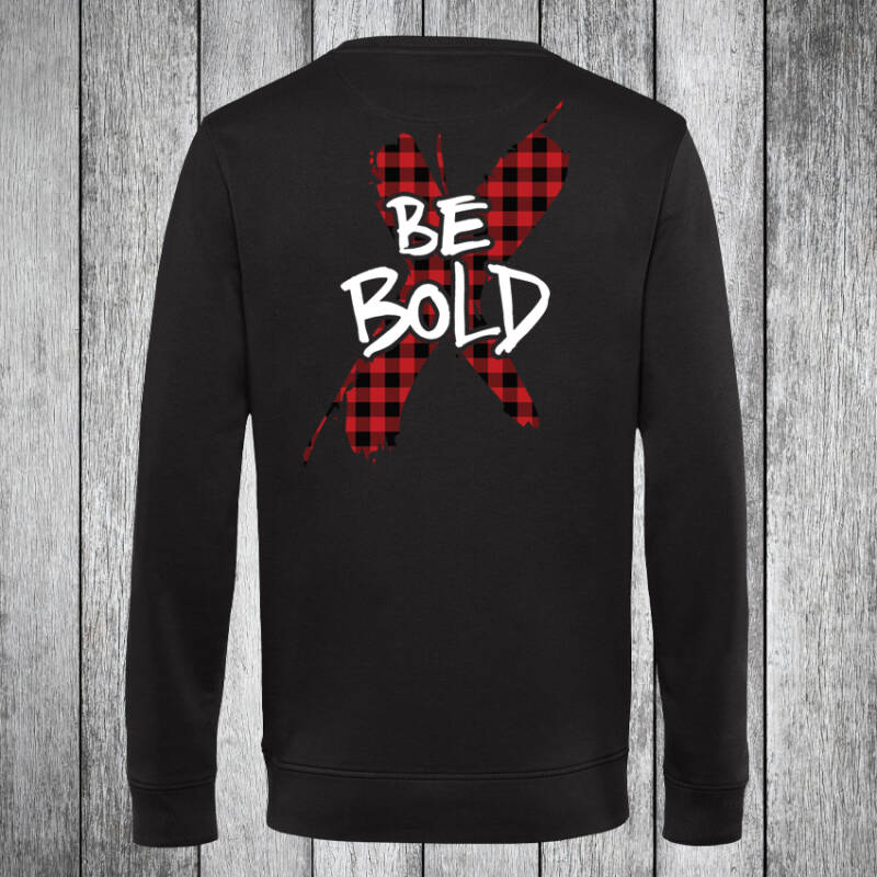 Be Bold Lumberjack Sweatshirt Black