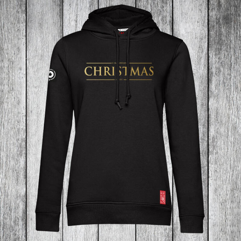 I survived Christmas 2020 Dames Hoodie