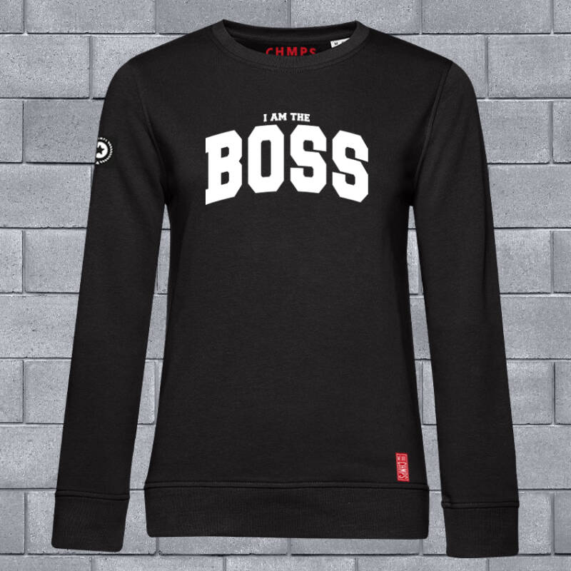 I am the BOSS Dames Sweatshirt
