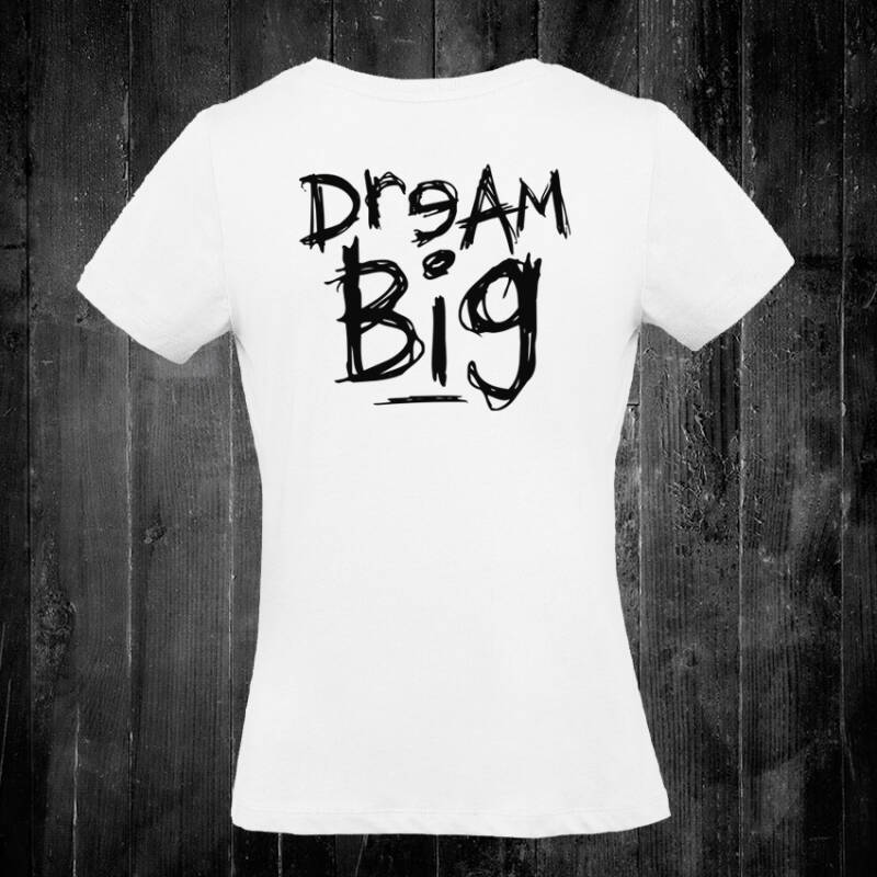 Dream Big dames T-shirt White