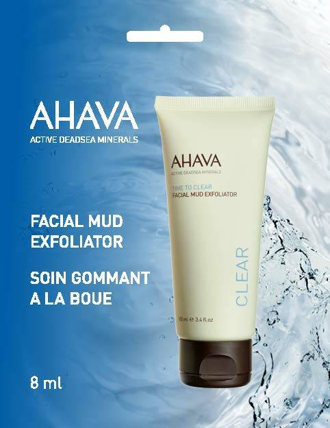Facial Mud exfoliator - Single use