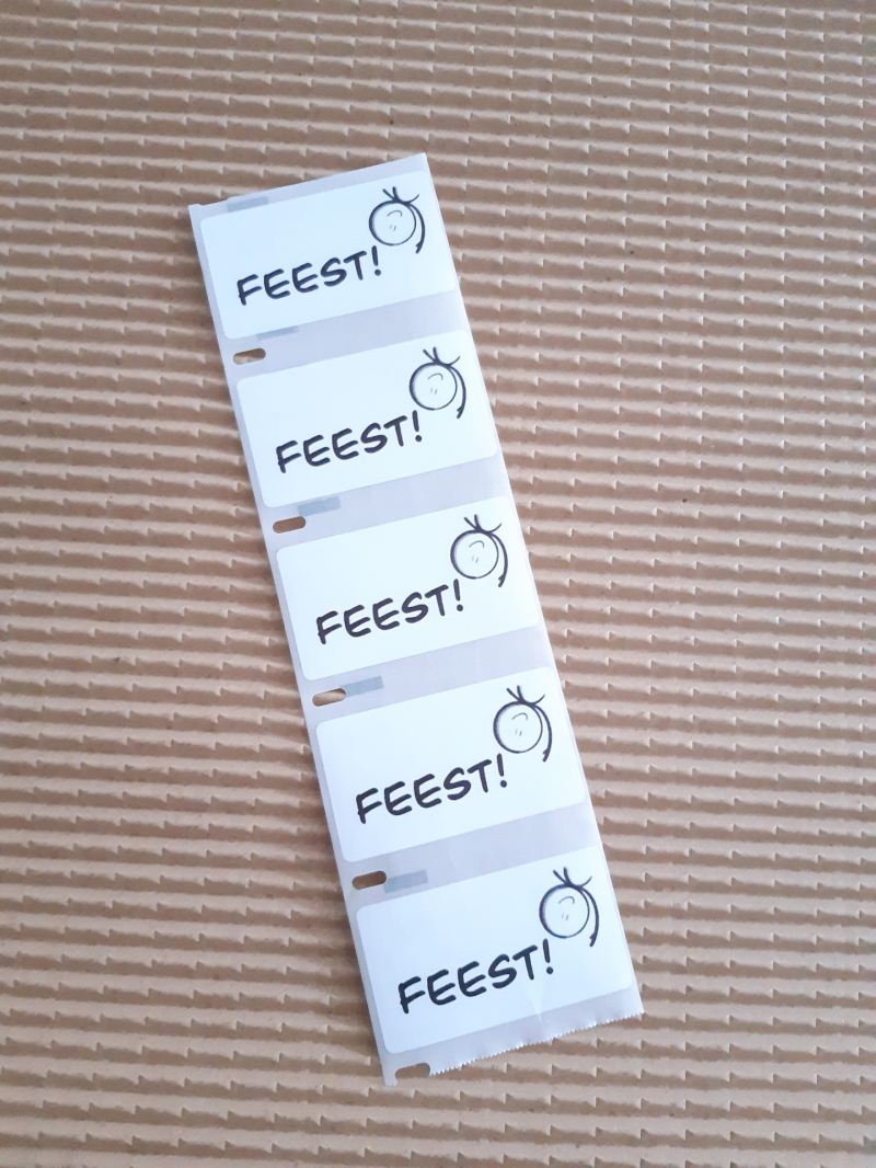 Stickers FEEST!