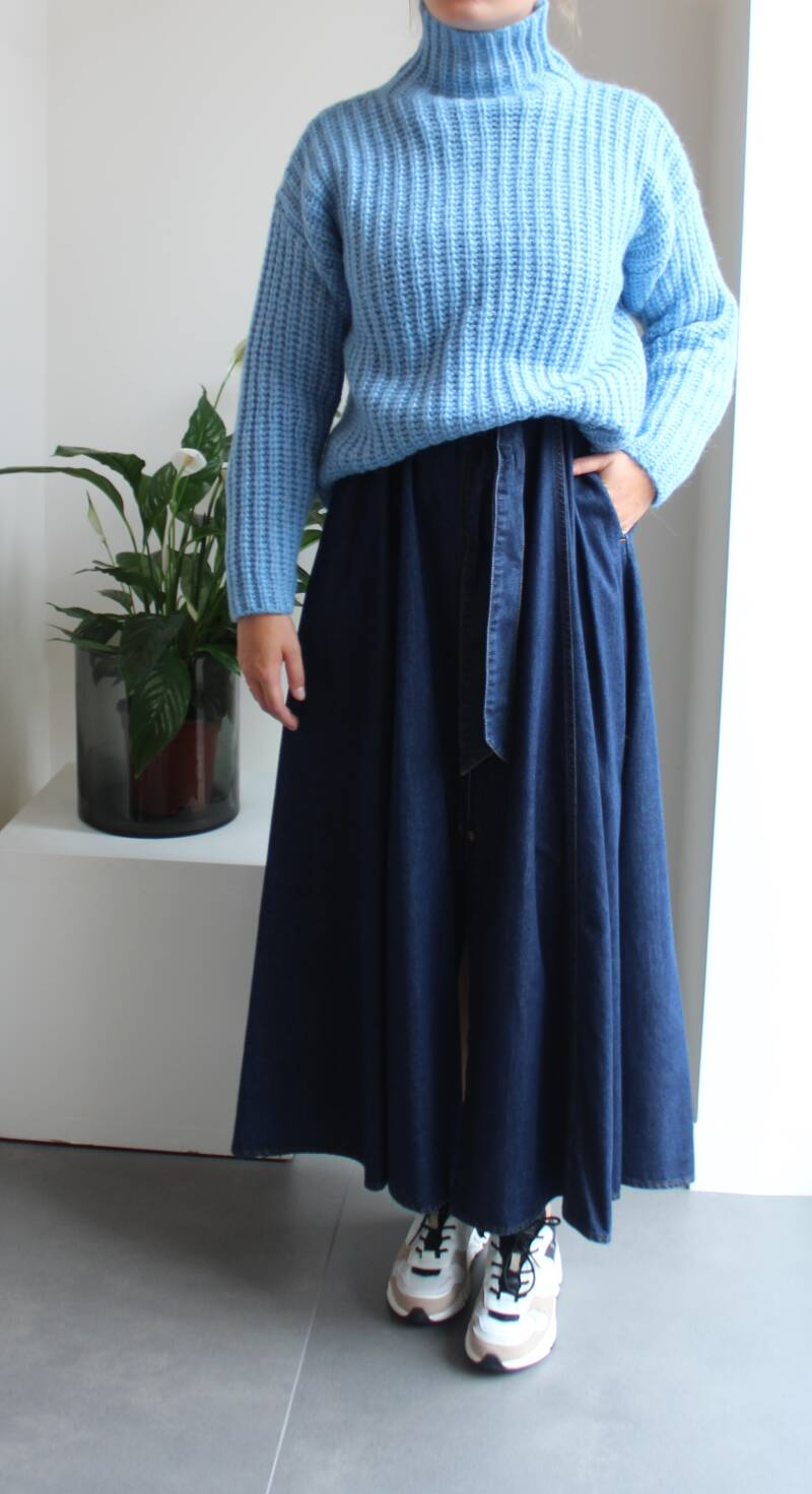 SCAPA PULL GIOLLA BLUE