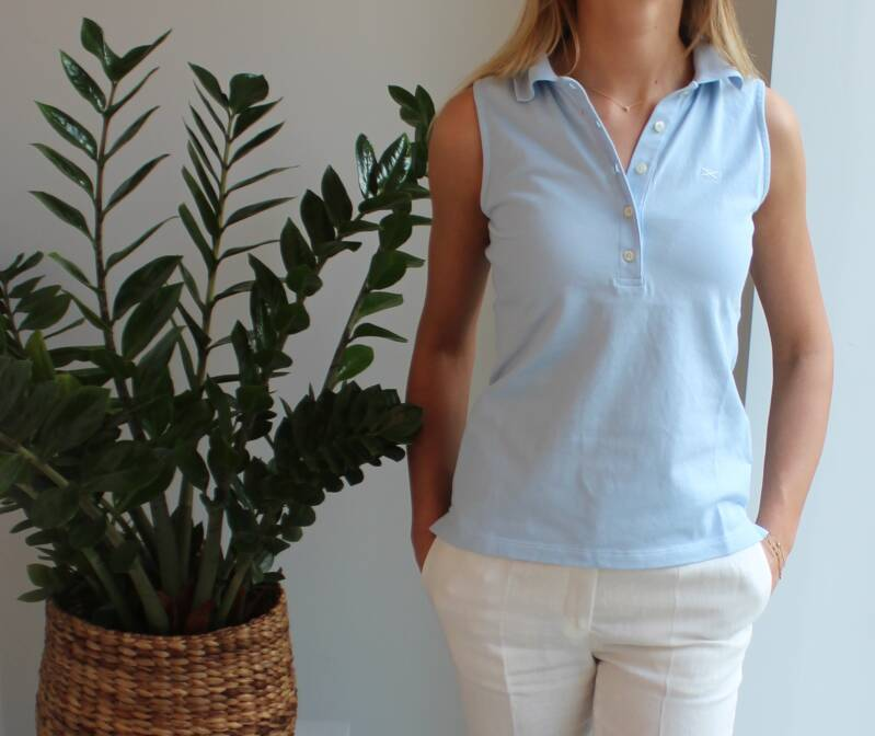 SCAPA SPORTS POLO GINGER  CUPQD017 (ook in roze en wit)