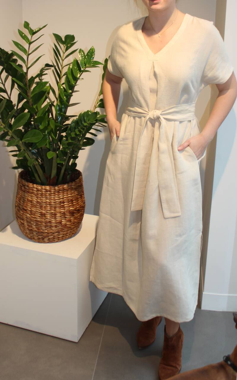SCAPA FLOW DRESS MISTERY NATURAL