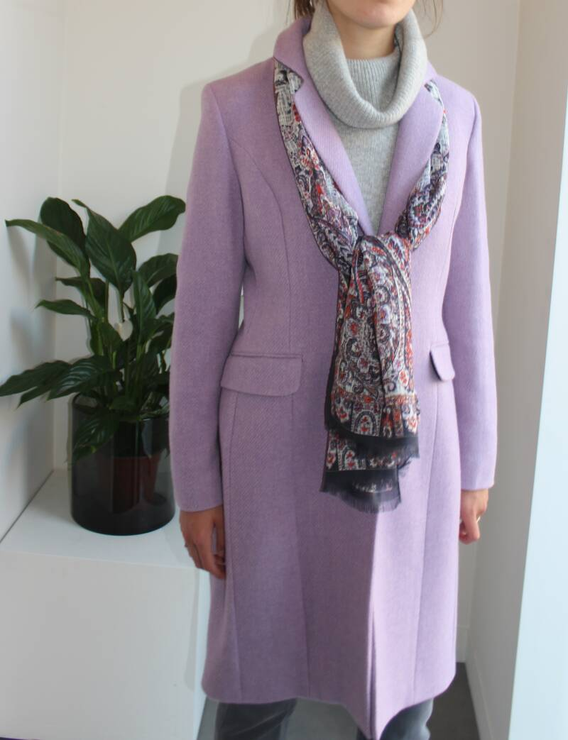 SCAPA COAT MYLORD LILAC