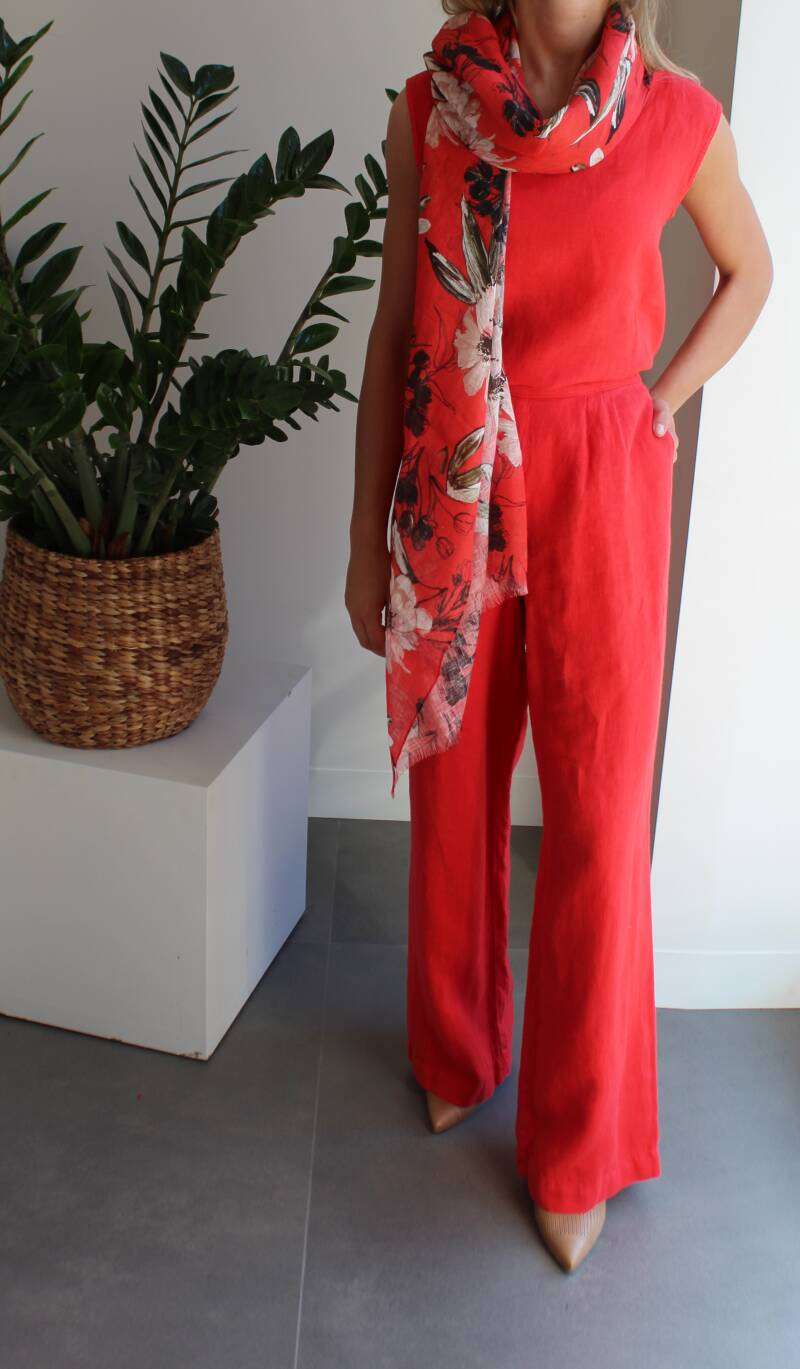 SCAPA FLOW TROUSER MAURIEN RED