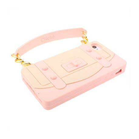 iPhone 4 4s Handbag silicone Cover
