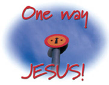 Kadokaartje KK24  -  One way Jesus!
