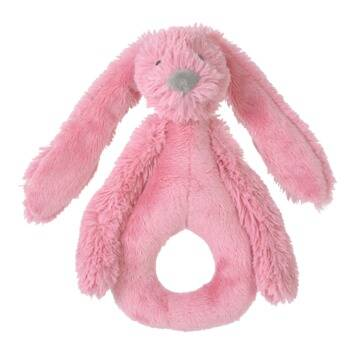 Deep Pink Rabbit Richie Rattle