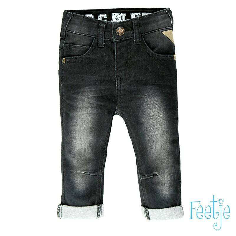 Feetje - Broekje Black Slim Fit Denim