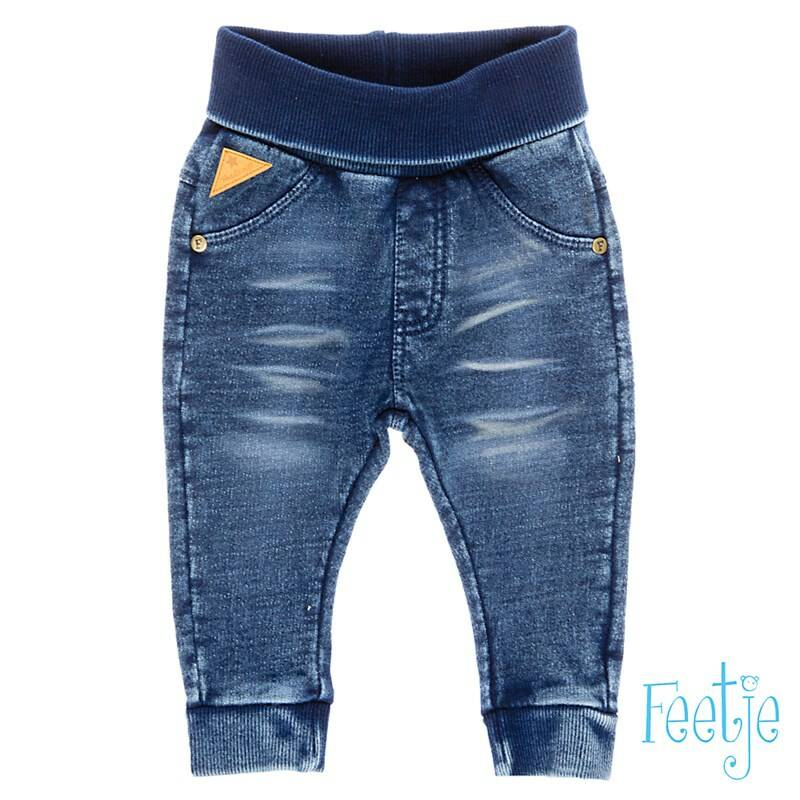 Feetje - Knitted slim fit denim