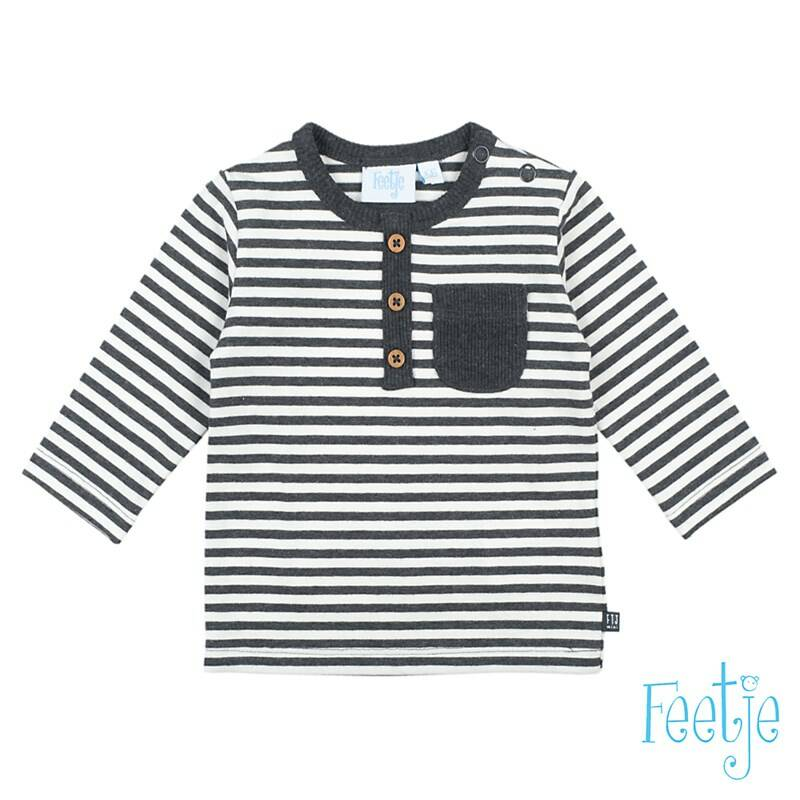 Feetje Longsleeve streep - Mini Person