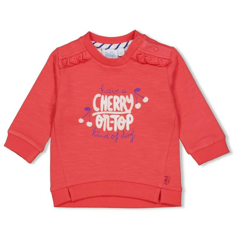 Feetje Sweater - Cherry Sweetness
