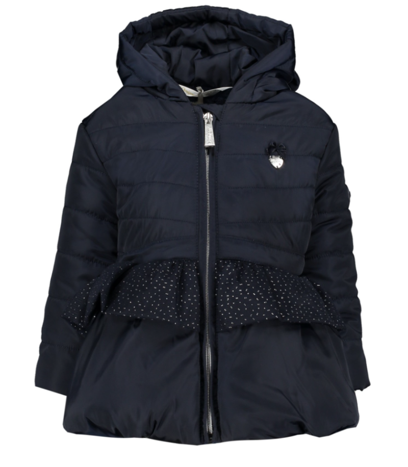 Le Chic Winterjas with Blows & Net