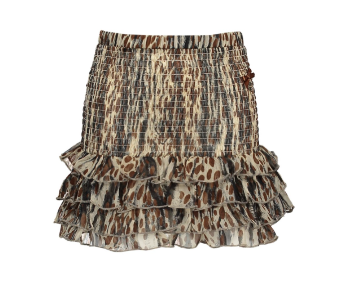 Le Chic Skirt Sketchy Animal