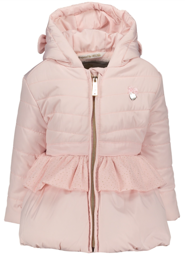 Le Chic Coat With Bows & Net
