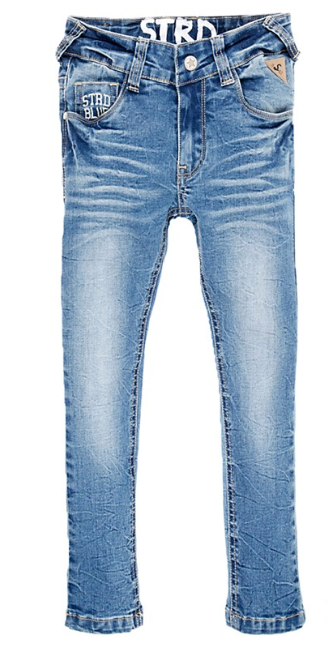 Sturdy Power stretched bleached denim