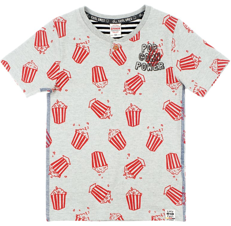 Sturdy T-shirt - Popcorn Power