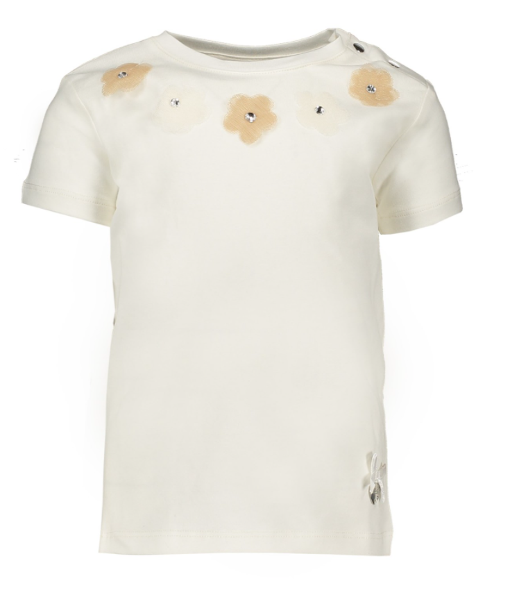 Le Chic T-shirt Voile Flowers