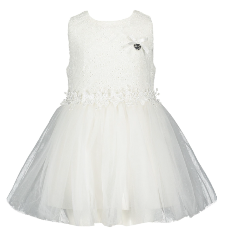 Le Chic Dress Broderie Top & Net Skirt