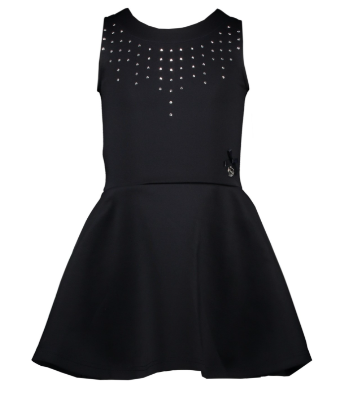 Le Chic Dress Neoprene Chic Studs