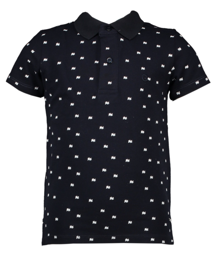 Le Chic Garçon Polo All-Over Print