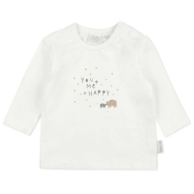 Feetje Longsleeve You+Me - Happy
