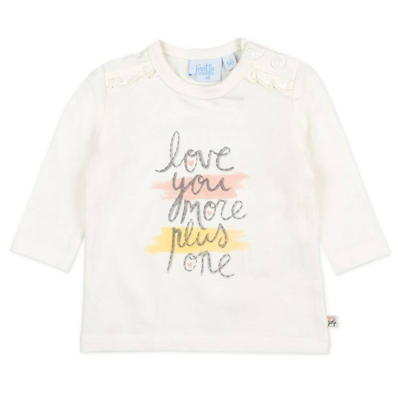 Feetje Longsleeve Love You More - Little and Loved