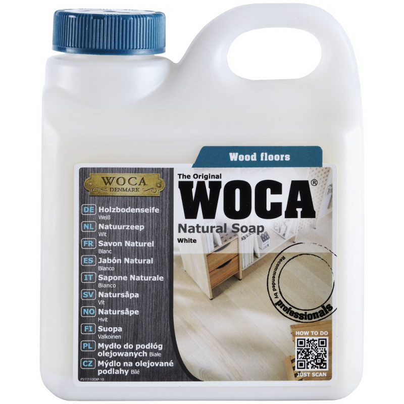 WOCA natural soap white