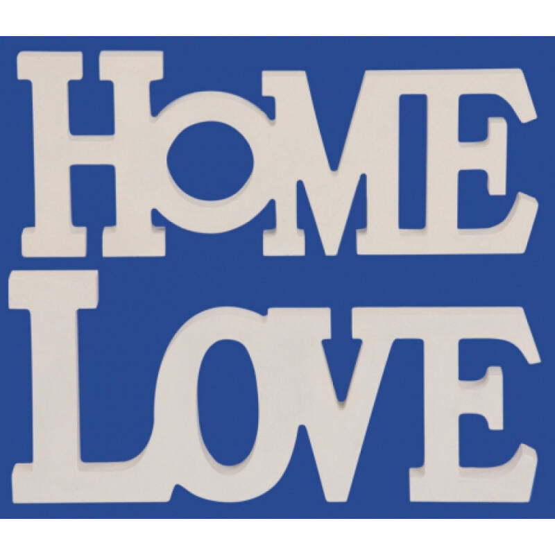 Belettering HOME & LOVE - Large