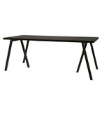 Lifestyle Waregem eettafel black