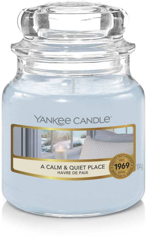 YC A calm and Quiet Place Small Jar