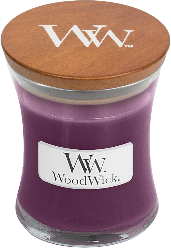 Woodwick Spiced Blackberry Mini Candle