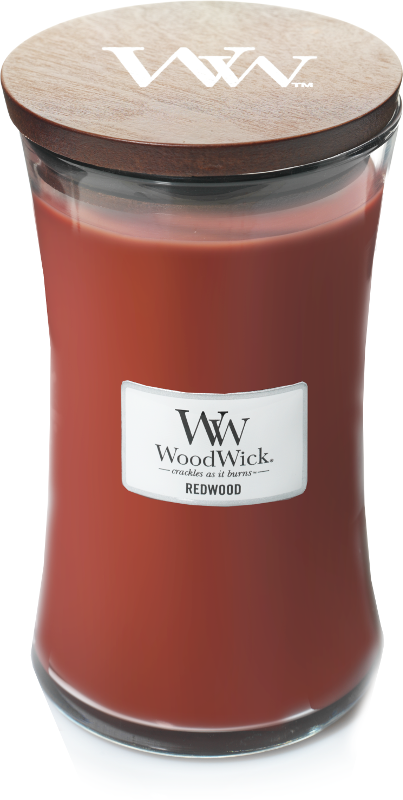Woodwick Redwood Large Candle