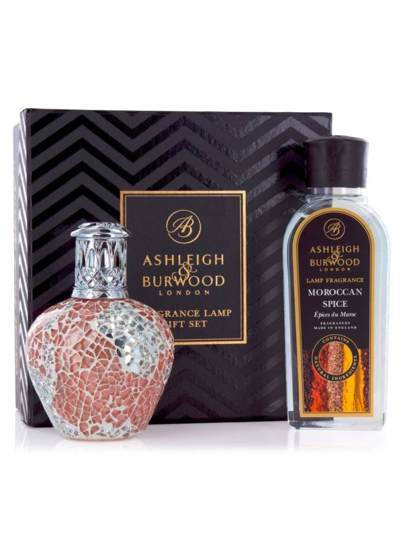 Ashleigh & Burwood Fragrance Lamp Cadeauset Apricot Shimmer inclusief Moroccan Spices Olie