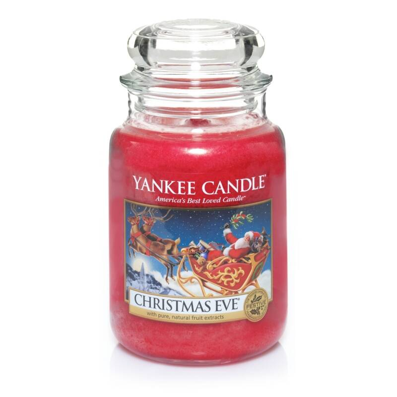 Yankee Candle Large Jar Geurkaars - Christmas Eve
