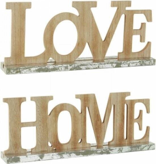 Decoratieve Letters - Hout - HOME of LOVE