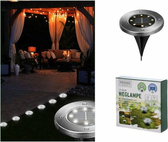 LED tuinpadverlichting op zonne-energie