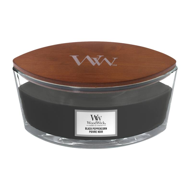 WoodWick Heartwick Flame Ellipse ​​​​​​​Black Peppercorn