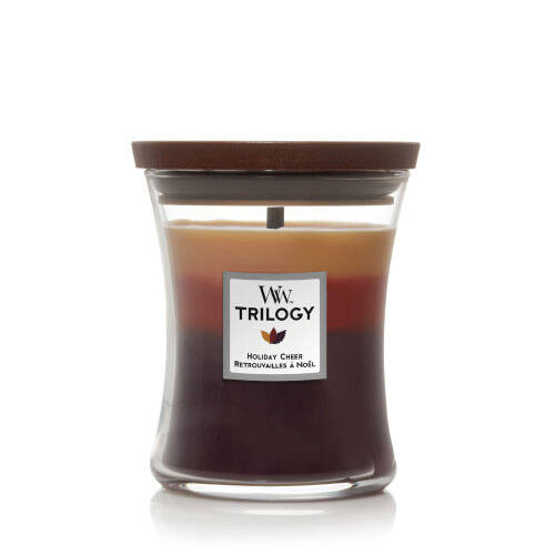 WoodWick Medium Candle Holiday Cheer Trilogy
